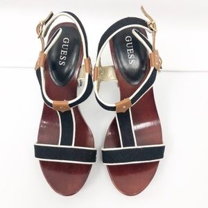 Guess nyle t-strap Sandals
